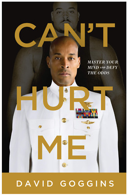 David Goggins Can't Hurt Me Hardcover Master Your Mind and Defy the Odds NEW