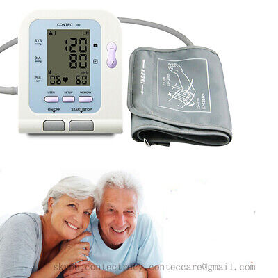 Arm Digital Blood Pressure Monitor SPO2 Monitor PC USB NIBP,PR,Sphygmomanometer