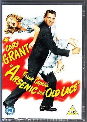 ARSENIC AND OLD LACE (1944) DVD CARY GRANT Region 4 (AUS) New & Sealed