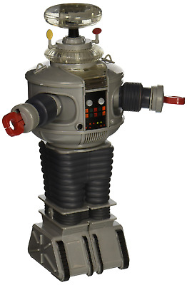 Lost in Space: Electronic Lights and Sounds B9 Robot Figure Statues