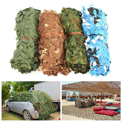 Filet Camouflage Forêt Jungle Camo Net Camping Chasse Cacher Armée Militaire