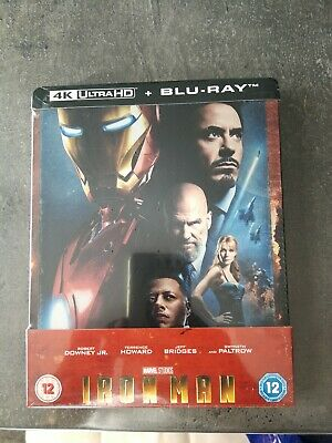 Iron Man 1 Steelbook 4k Zavvi Vf Neuf