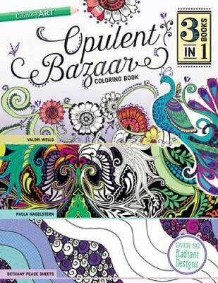 Opulent Bazaar Coloring Book by Paula Nadelstern 9781617454370 | Brand New