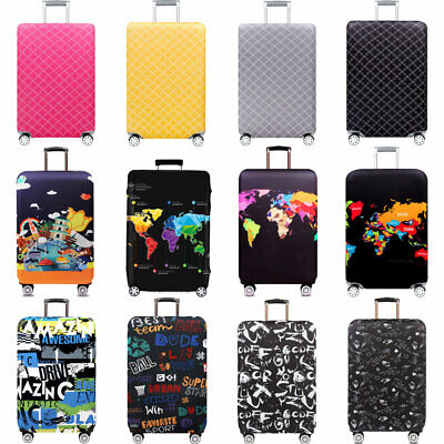 Elastic Luggage Protector Suitcase Cover Bags Dustproof Anti Scratch Case 18-32""