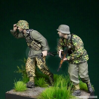 1//35 Resin WWII Dead German Soldiers Corpse unpainted unassembled BL277
