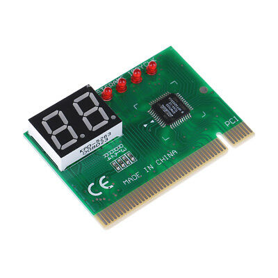 Pc Diagnostic 2-Digit Pci Card Motherboard Tester Analyze Code For Computer Pc#