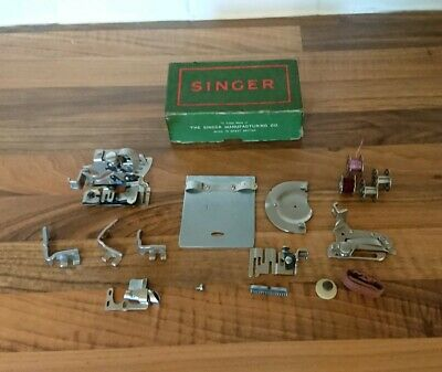 Singer Sewing Machine Attachments/parts In Orignal Box