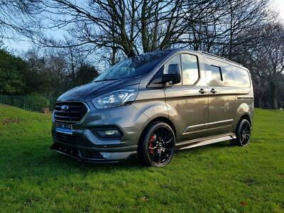 2019 Ford Transit Custom New 2.0 300 Limited Swb Dcb Crew Euro6 130Bhp Rs Styl