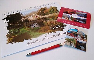 2020 Spirit of Lancashire Calendar Gift Box Special Offer!
