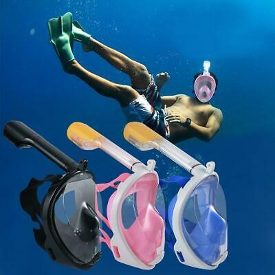 Seaview Snorkel Mask Full Face Wide 180° View Panoramic Compatible with BRCE 10