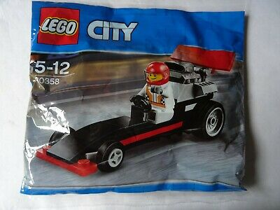 LEGO City Set 30358 DRAGSTER WITH DRIVER Polybag BNIB