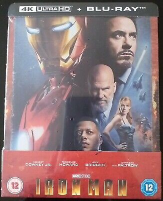 Steelbook Iron Man 4K UHD Zavvi