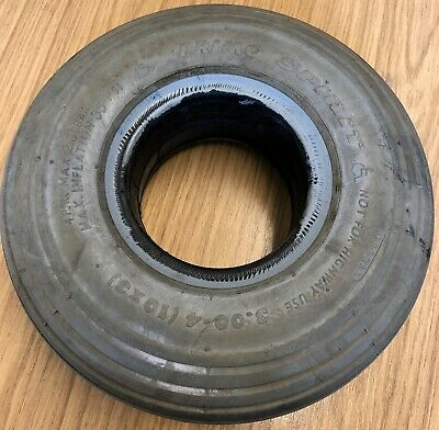 1 of 260x85 3.00-4 Solid Rib Mobility Scooter Tyre 300x4. Used