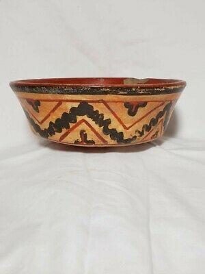 Pre-Columbian Mayan painted bowl from Guatemala. 700 ad.