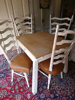 Old Chair Shabby Chic Vintage 1 from 4