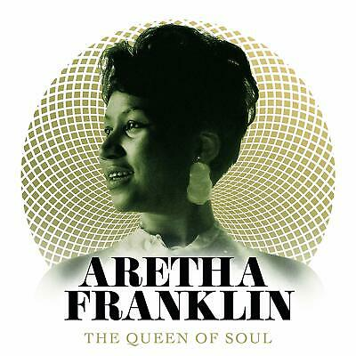 ARETHA FRANKLIN The Queen Of Soul (2018) 34-track 2-CD album NEW/SEALED