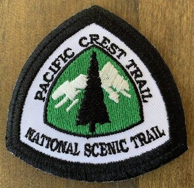 Pacific Crest Trail Collectible Embroidered Patch Thru-Hiking Yosemite Tahoe PCT