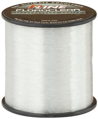 P-Line Floroclear Clear Fishing Line 260-300 Yards Bass /& Trout Fishing Lure