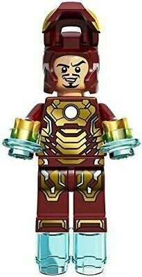 LEGO Marvel Super Heroes Iron Man Mark 42 Armour Minifigure from 76006