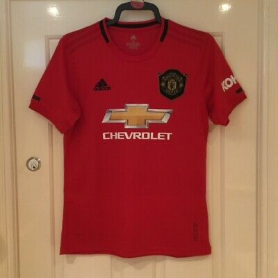 Manchester United Home Shirt 2019/20 Men's Size Large New With Tags