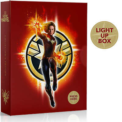 Captain Marvel 4K+Blu-ray STEELBOOK Sold-Out Zavvi Exclusive Collector's Edition