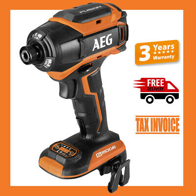 AEG BSS18B6 18V Fusion Brushless 6 Mode Impact Driver- 3 Years Warranty