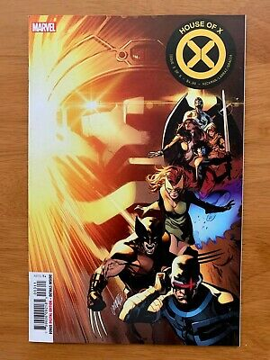 House of X  #3 Pepe Larraz Main Cover A  1st Print  Marvel 2019 NM+