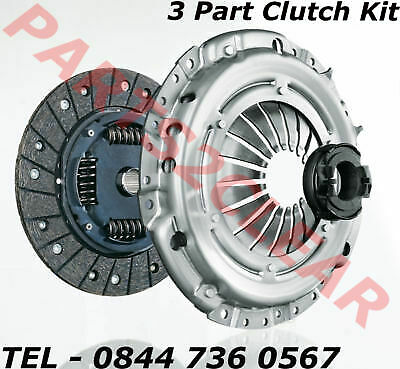 VOLVO S40 Mk1 1.6 Clutch Kit 3pc 97 to 03 B/&B 272217 New Cover+Plate+Releaser