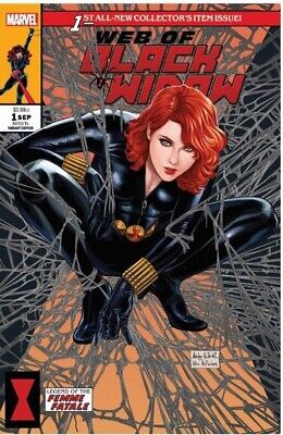 Web Of Black Widow #1 Ashley Witter Krs Comics Exclusive Cover A Nm