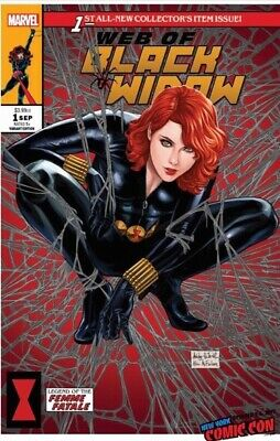 Web Of Black Widow #1 Ashley Witter Nycc Exclusive Cover B