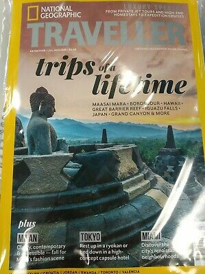 National Geographic Traveller Luxury Collection Magazine / Book 2018 ~ New ~