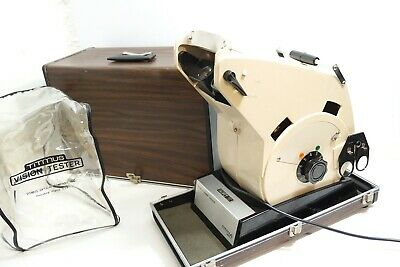 Titmus Ov-7M Vision Screener Tester With Slides In Travel Case ~ Works Great!!