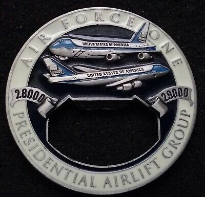 RARE President Airlift Group Air Force One Andrews White House US Challenge Coin
