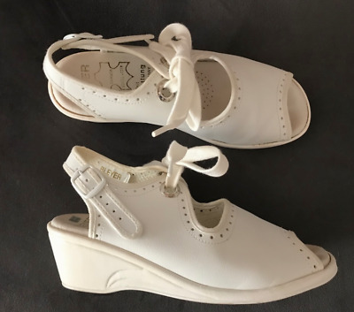 Price drop! Dance Shoes - Swing or Rock n Roll - Bleyer - White - small size AU5
