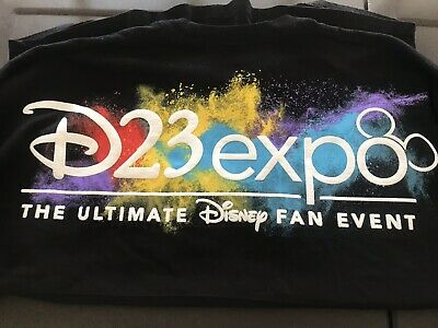 D23 Expo 2019 Exclusive Dream Store Spirit Jersey - Black Size Adult Small - NEW