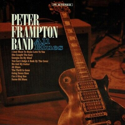 Peter Frampton Band CD All Blues (2019) New Release