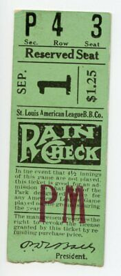 September 1, 1930, St. Louis Browns vs. Cleveland Indians, 2nd game of double