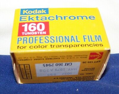 Vintage Kodak Ektachrome 160 Tungsten Color Slide Film EPD 135-36 Exp 5/1979
