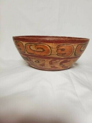 Pre-Columbian Mayan copador bowl from El Salvador. 700 ad.