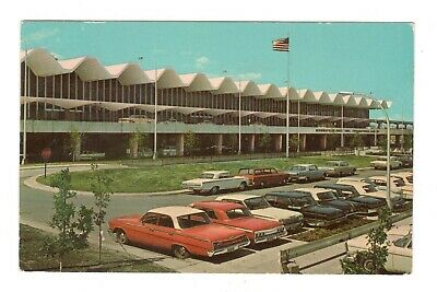 Minneapolis St. Paul International Airport Minnesota Vintage Postcard EB28