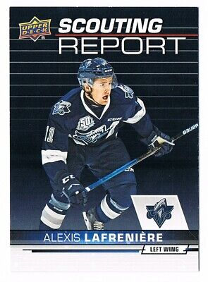 2018-19 Upper Deck CHL Scouting Report Inserts Pick From List !!