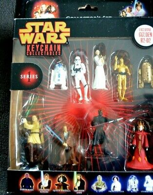 Star Wars Keychain Collectables  Series 1,2, brand new in boxes