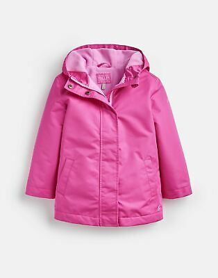 Joules 207085 Showerproof Coat in TRULY PINK