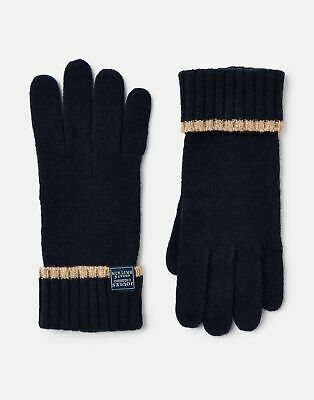 Joules 207388 Huddle Gloves in FRENCH NAVY in One Size