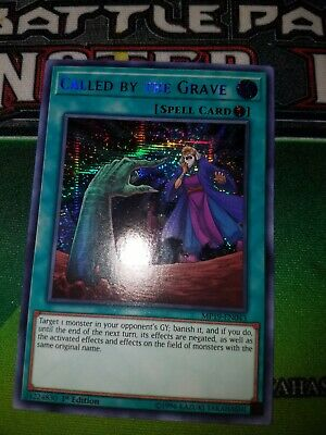Called by the Grave	MP19-EN043	Prismatic Secret Rare	Yug