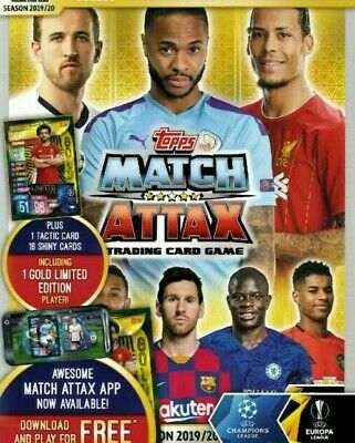 Match Attax 2019/20 19/20 Base Cards - Team Badge Duo - Champions League 1 - 154