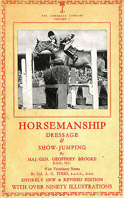 Horsemanship: Dressage & Showjumping by Geoffrey Brooke