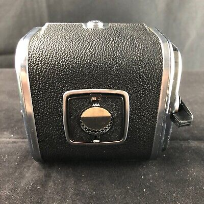 Hasselblad Chrome A16 4X4Cm 120 Roll Film Back, Matching Insert, Handbook