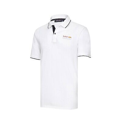 POLO Red Bull Racing Team Mens Classic Poloshirt Formula One F1 NEW! White
