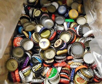 Lot Of 1800 Mixed Craft & Regular Beer Caps 7 1/2 Lbs